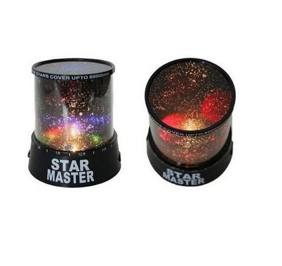 Romantic Colourful Cosmos Star Master LED Projector Lamp Night Light Gift NEW