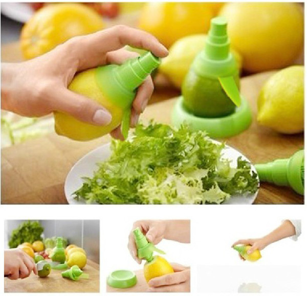 Creativa di trasporto libero succo di limone spruzzatore Citrus Spray mano Juicer Mini Squeezer cucina Strumenti prezzo di fabbrica