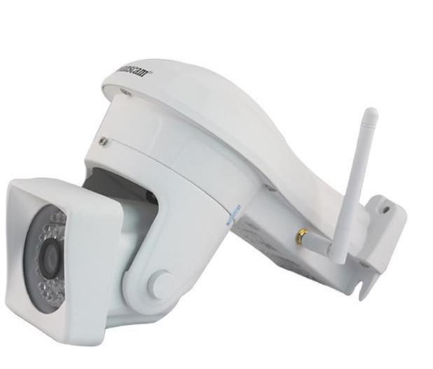 Mais novo 1.0 MP Megapixel 720 P HD 36 LEDs IR Cut H.264 Pan / Tilt PNP NightVision Ao Ar Livre Sem Fio Sistema de Segurança Câmera de Rede IP Câmeras