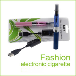 Wholesale Ego Ce4 Purple - Ego-T CE4 E Cigarettes Kit Blister Kits CE4 Atomizer Clearomizer 650mah 900mah 1100mah Battery Ego T Battery
