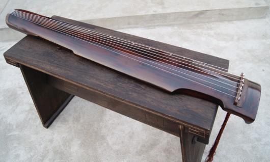 best selling Exempt freight,Wonderful Chinese Exquisite 7 Strings Old GuQin