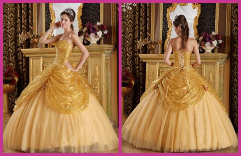 Shining new 2015 yellow gold sequins quinceanera dresses pick ups shining new 2015 yellow gold sequins quinceanera dresses pick ups flowers sweetheart lace up ball gown prom dresses floor lenght one shoulder quinceanera mightylinksfo
