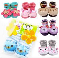 Wholesale China Sale Shoes Kids - 30%OFF 2013 latest models!Cartoon animal head high socks!Spring floor socks,shoe covers kid shoes baby wear shoes sale china 12pairs 24pcs J