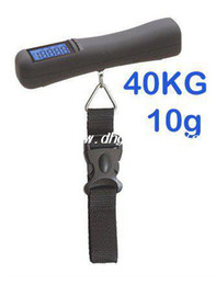 Wholesale Hanging Luggage - Wholesale - 88Lb 40kg 1410oz*10g Digital Portable Travel Hanging Suitcase Baggage Luggage scale
