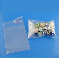 Wholesale Self Adhesive Seal Plastic - MIC New 200Pcs Clear Self Adhesive Seal Plastic Bags 7x12cm DIY Jewelry Packaging & Display hot sell