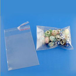 Plastic self Packaging online shopping - MIC New Clear Self Adhesive Seal Plastic Bags x12cm DIY Jewelry Packaging Display hot sell