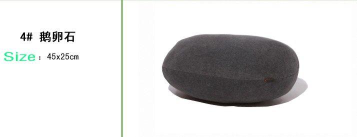 الحجر الحي الإبداعي أريكة وسادة وسادة حصاة وسادة الأطفال لعبة ديكور المنزل 1 مجموعة / وحدة شحن مجاني