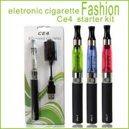 Wholesale Clearomizer Ego T Blister - Ego-T CE4 E-cigarettes kit EGO-T CE4 blister kit Blister CE4 Clearomizer Kits 650mah 900mah 1100mah battery Ego-T battery