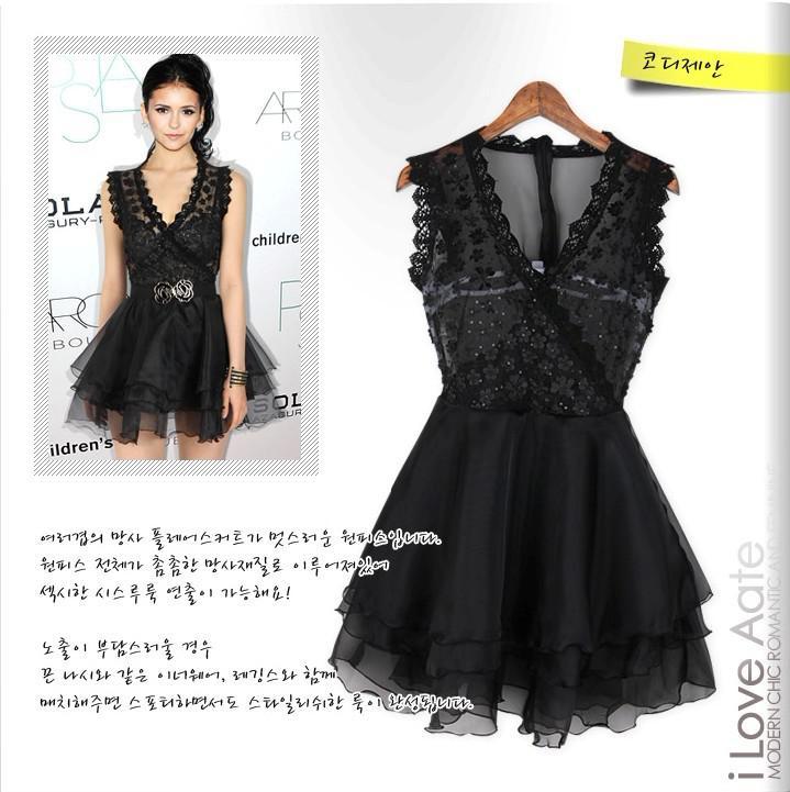 Großhandel Summer Dress 2015 Fashion Sexy Kleid Berühmtheit Nina ...
