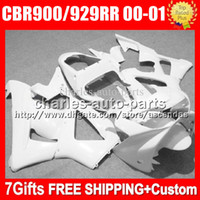 Wholesale Honda 929rr - Body For HONDA CBR 929RR CBR900RR CBR929RR 00 01 CBR 900RR 67HM3 Stock red CBR929 RR CBR900 RR CBR 929 RR 2000 2001 Fairing kit 8Gifts