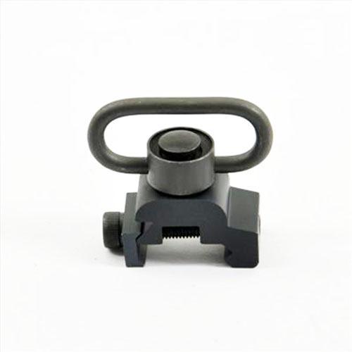 Supporto girevole a sgancio rapido QD Montaggio su guida picatinny nera da 20mm