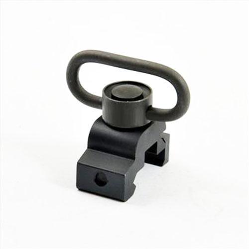 QD 퀵 릴리스 슬링 회전 장착 20mm picatinny rail black