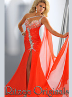 original evening dresses - New arrival beautiful Ritzee Slit Front Originals Pageant Dress Party Prom Dresses Evening dresses