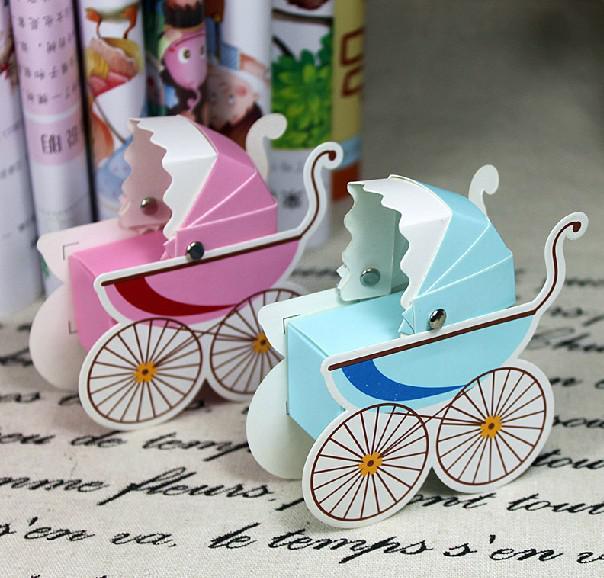 Unieke baby auto zoete doos nieuwe bruiloft snoep gunsten nieuwigheid bruiloft gunst houders bruiloft snoep pakket voor verjaardag of themapartij beste heet