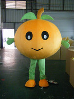 Wholesale Tangerine Costume - 2013 walking tangerine mascot costume Christmas cartoon
