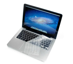 ingrosso tastiera chiara-TPU Crystal Guard Keyboard Custodia protettiva per la pelle Ultrasottile Trasparente Pellicola trasparente MacBook Air Pro Retina Magic Bluetooth Impermeabile