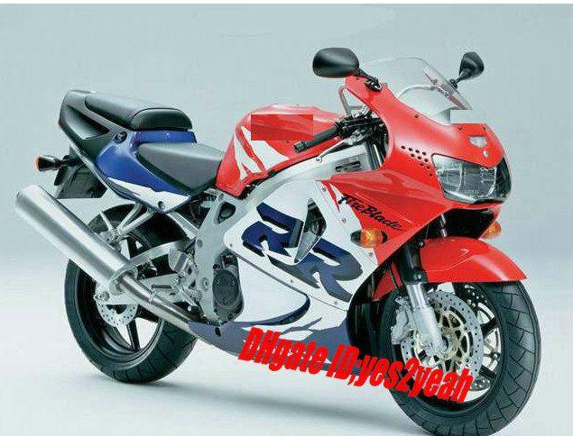 Fairing kit for HONDA CBR900RR 98 99 CBR 900RR CBR900 CBR 900 RR 919 1998 1999 Hot red white Fairings bodywork+7gifts Hs89