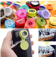 Wholesale Lomo Wide - Novelty Jelly LOMO Effects Wide Angle Lens Fish Eye Lens WHOLE SET Cell Phone Fish Eye Lens &Telescopes 12pcs lot free shipping