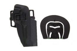 New Blackhawk CQC Airsoft M92 hard plastic tactical holster Black