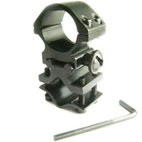 Wholesale Tactical Flashlight Inch - Tactical 1 inch Aluminum Alloy Flashlight Laser Torch Scope Mount