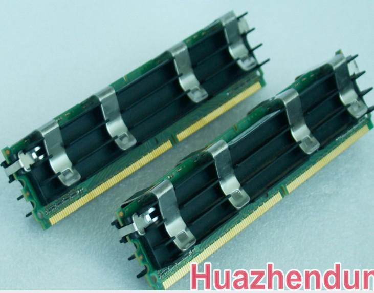 Memoria MacPro original 4GB 2GBx2 DDR2-5300 FB-Dimm ECC DDR2-667 con A-pple Mac Pro 1.1, 2.1,3.1 envío gratis / pair