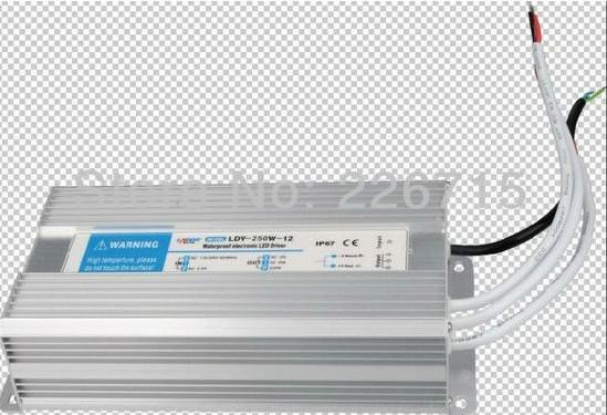 wasserdichte Stromversorgung 12V / 16.5A / 200W; LED-Treiber AC110 / 220V Eingang; CE-Zulassung; CE-RoHS-Zulassung