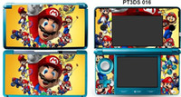 Wholesale Console Decorations - 1pieces Happy Mario Sticker VINYL STICKER DECAL COVER SKIN for 3DS Console Decorations free shipping