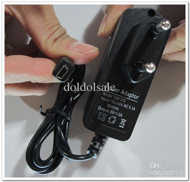 5V 2A Mini-USB-Port, der Ladegerät-Stromversorgung Wechselstrom- / DC-Netzteil umschaltet Freies Verschiffen