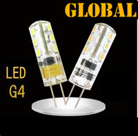 Wholesale Smd Power Led 3w - High Power SMD 3014 G4 LED Light 3W DC AC 12V LED Lamp Replace 30W halogen lamp 360 Beam Angle LED Bulb lamp warranty 2 years