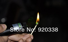 Wholesale Strongest Green Laser Pointer - Strongest high power green laser pointer 532nm 302 focusable burning green laser pointers cigarettes pop balloon+box free shipping