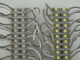Wholesale Red Module - NEW 26*7MM SIZE SMD 3528 2 LED Modules Yellow Green Red Blue White Warm White Waterproof IP65 DC12V LED Light 100pcs lots