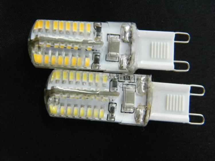 G9 LEDライトSMD 3014 3W 110V-130V 220V-240V 30Wハロゲンランプ360ビーム角LED電球ランプキャンドルシャンデリアライトハイパワー