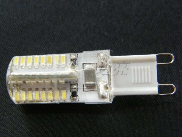 Lámpara de alta potencia SMD 3014 3W CA 220-240V G9 LED Reemplace 30W lámpara halógena 360 Ángulo de haz LED Lámpara de bombilla Luz ahorro de energía envío gratis