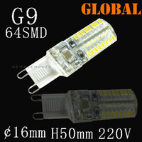 Wholesale G9 Led High Power - High Power SMD 3014 3W AC 110V-130V 220-240V G9 LED Lamp Replace 30W halogen lamp 360 Beam Angle LED Bulb lamp warranty 2 year free shipping