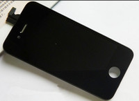 Wholesale Iphone 4s Display Assembly Original - Brand New Free Shipping Original LCD Display + Digitizer + Frame Full Set Assembly For iPhone 4S