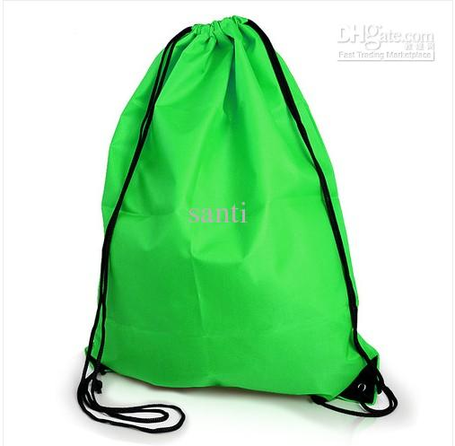 7f9eb01f4137 NEW Gym Swim School Dance Shoe Boot PE Drawstring Bag Backpack ...