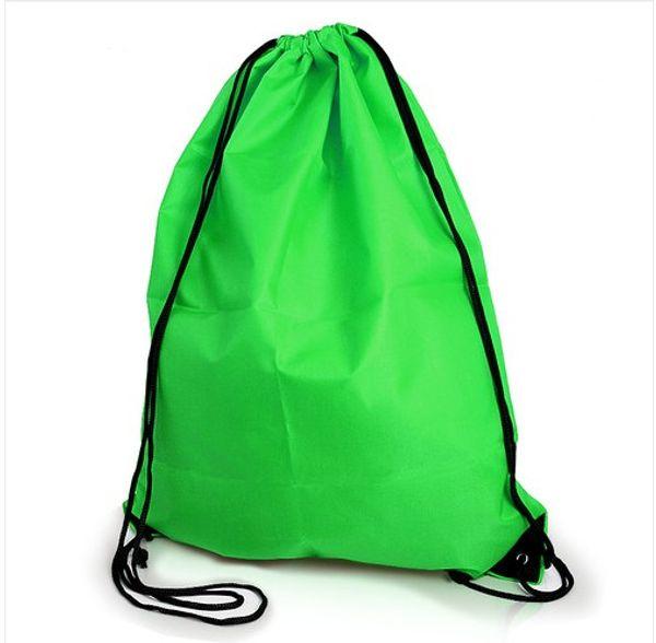 top popular NEW Gym Swim School Dance Shoe Boot PE Drawstring Bag Backpack, Portable String Bag Drawstring Backpack 2019