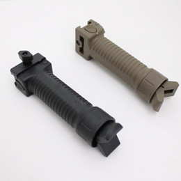 Drss Ergonomic Rail Hand ForeGrip-Bipod Dark Earth (DE)