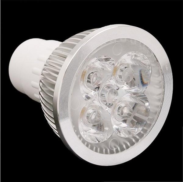Alta potencia CREE 12W 4x3W regulable GU10 MR16 E27 E14 Lámpara de luz LED Bombilla de foco CE RoHs