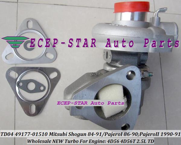 Turbo à refroidissement par huile TD04 49177-01510 4917701510 MD094720 MD160054 MD160053 Pour Mitsubishi Shogun 1984-91 Pajero I 1986-90 4D56 4D56T 2.5L