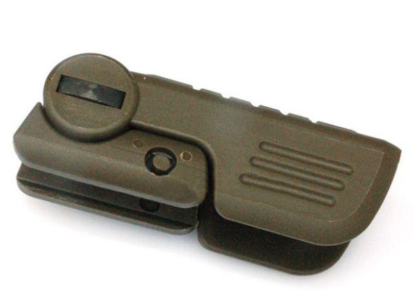 새로운 CAA FVG1 접이식 수직 포어 그립 전술 접기 팔뚝 그립 두 자세 녹색