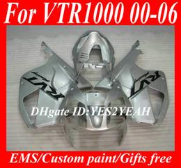 Honda vtr on-line-Kit de carenagem para HONDA VTR1000 SP1 2000 2001 VTR 1000 RC51 RVT 01 02 03 06 Carenagem de carroçaria HX91