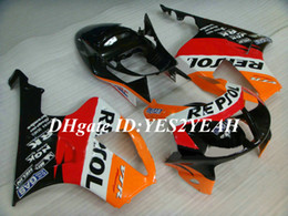 rc51 fairing kit Australia - Motorcycle Fairing kit for Honda VFR1000RR 00 01 04 06 VFR 1000 SP1 2000 2006 ABS Red orange black Fairings set+Gifts HW11