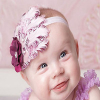 Wholesale Girls Nagorie Feather Headbands - Many Nagorie Feather Headbands Baby Headband Feather Headbands for Girl