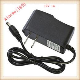 Wholesale 12v Cctv Cameras - 12V 1A Power Supply Adapter For CCTV DVR Camera