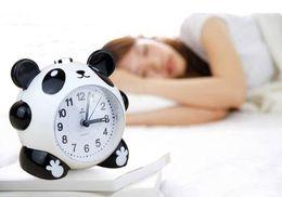 2019 sveglia retroilluminata Sveglia Snooze Panda sveglia con orologio al quarzo retroilluminato sveglia retroilluminata economici