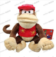"Wholesale Diddy Plush - LLFA2111 Diddy Kong 6.5"" Plush Doll Soft Toy diddy Kong plush toy"