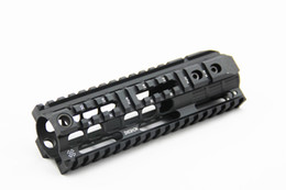 "China NOVESKE 7"" Handguard Rail System For AEG M4 M16 Black suppliers"