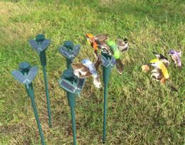 Wholesale New Educational Toys - HOT New Solar hummingbirds, butterflies garden toys, students enlightenment educational toys solar and battery combo.GIFT