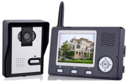 3,5 tum TFT Monitor Trådlöst tvåvägs intercom-system IR Nattvision video dörr telefon